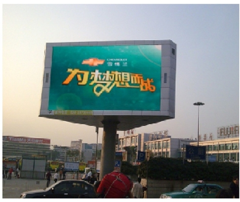 IP65 High Resolution Advertising Led Display Screen , Led Video Wall Static Scan Mode